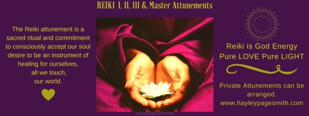 Reiki Attunement FB event