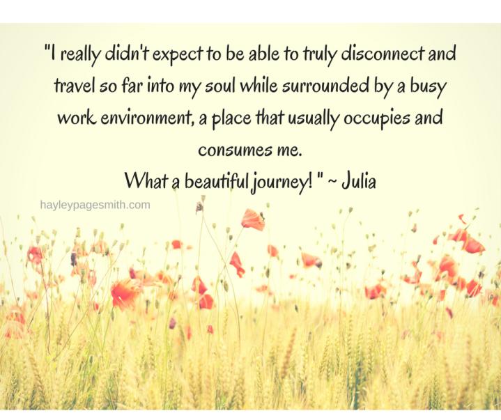 Testimonial Julia