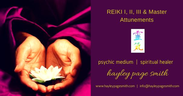 REIKI I, II, III & Master Attunements